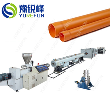 Plastic PVC UPVC Pipe Extrusion Production Line