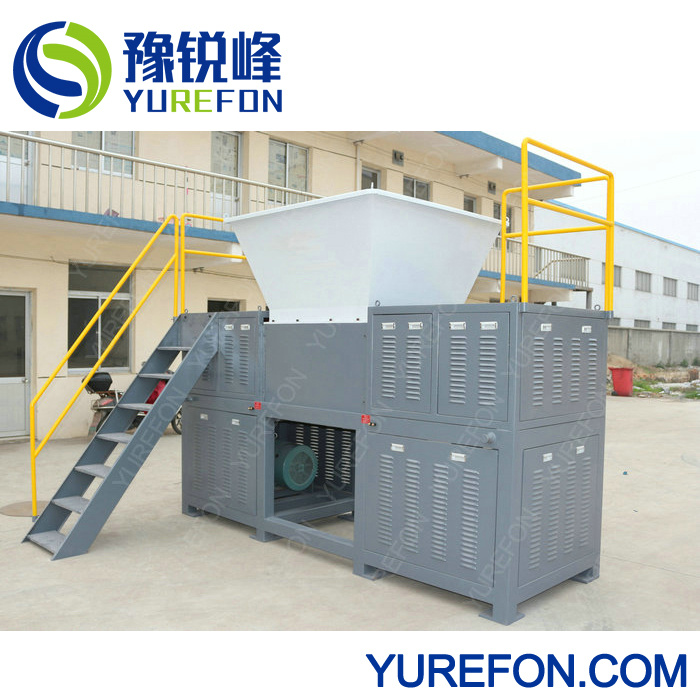 Recycle Plastic Double Shaft Shredder Machine